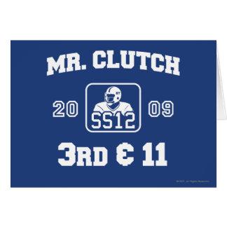 Mr. Clutch Card