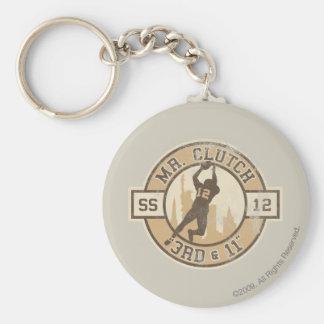 Mr. Clutch Keychain