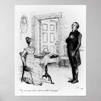 Mr Collins and Elizabeth Poster