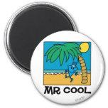 Mr Cool Beach Scene Fridge Magnets