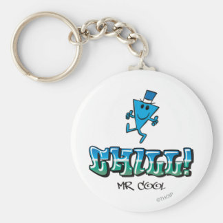 Mr. Cool Chilling Out Keychain