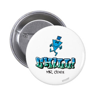 Mr. Cool Chilling Out Pinback Button