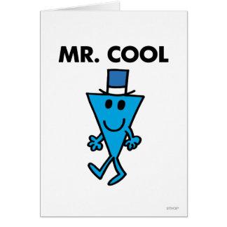 Mr Cool Classic Greeting Card