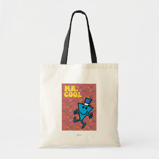 Mr. Cool | Colorful Background Budget Tote Bag
