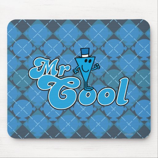 Mr. Cool | Happy Fist Pump Mouse Pad