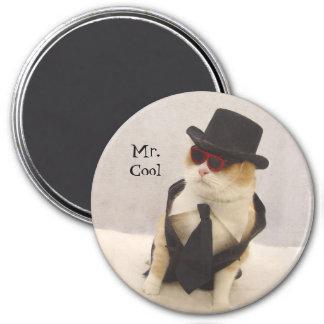 Mr. Cool 3 Inch Round Magnet