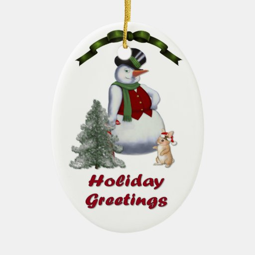 Cool Snowman Decoration Ornaments For Christmas Tree