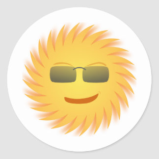 Mr__cool_Sun Sticker