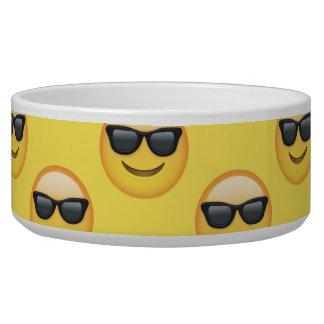 Mr Cool Sunglasses Emoji Bowl