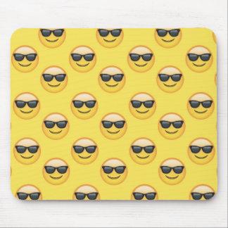 Mr Cool Sunglasses Emoji Mouse Pad