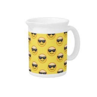 Mr Cool Sunglasses Emoji Pitcher