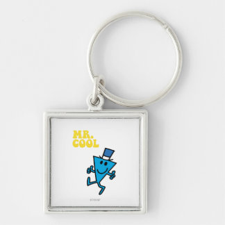 Mr. Cool   Yellow Lettering Keychain