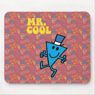 Mr. Cool | Yellow Lettering Mouse Pad
