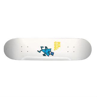 Mr. Cool | Yellow Lettering Skateboard Deck