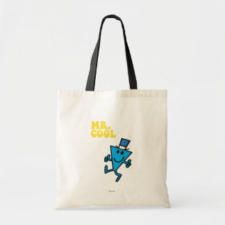 Mr. Cool   Yellow Lettering Tote Bag