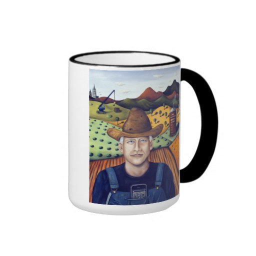 Mr. Coopers Spinach Farm Ringer Coffee Mug
