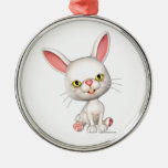 Mr. Cottontail Christmas Ornament