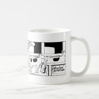 Mr Cow -- I Really Hate Mondays Classic White Mug