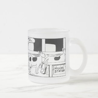 Mr Cow -- I Really Hate Mondays Frosted Mug
