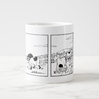 Mr Cow -- I'm Going Inside Jumbo Mug