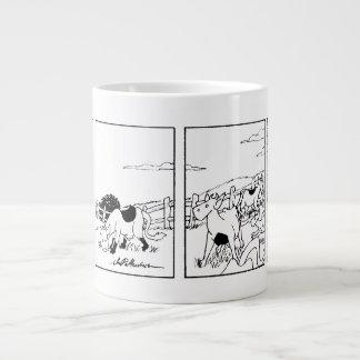 Mr Cow -- I'm Going Inside Jumbo Mug