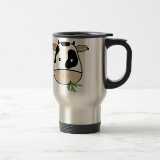 Mr. Cow 15 Oz Stainless Steel Travel Mug
