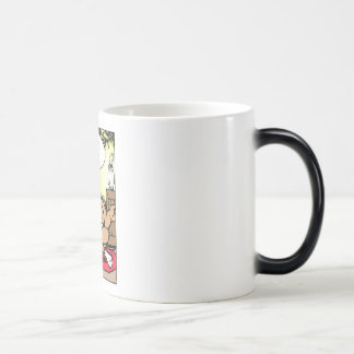 Mr Cow -- The Cowbell Of Life Morphing Mug