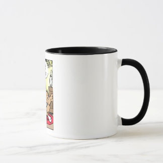 Mr Cow -- The Cowbell Of Life Ringer Mug