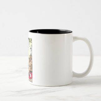 Mr Cow -- The Cowbell Of Life Two-Tone Mug