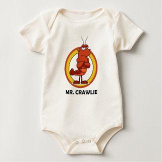 "Mr. Crawlie ""Follow Hype"" Infant Sleepwear Baby Bodysuit"