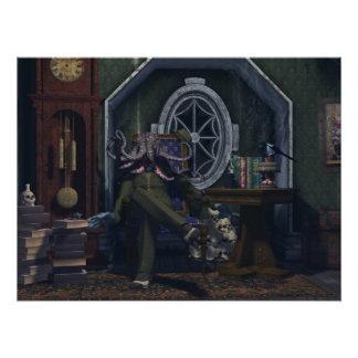 Mr. Cthulhu Just Sitting Around Photo Print