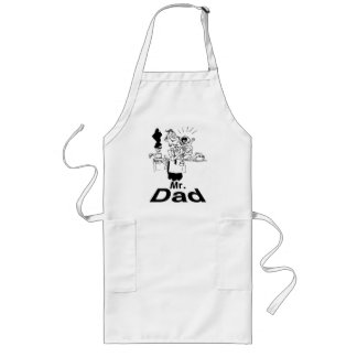 Mr. Dad Long Apron
