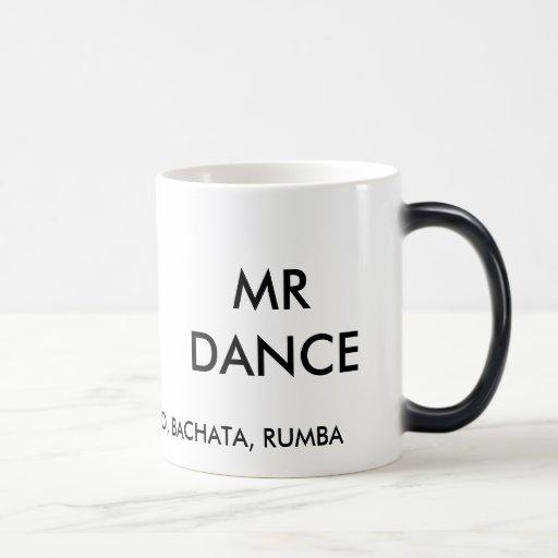MR DANCE'S CHA CHA COFFEE CUP MUGS