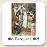 Mr. Darcy and Me! Drink Coaster