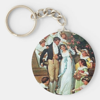 Mr. Darcy and Me Key Chain