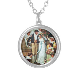 Mr. Darcy and Me Necklace