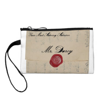 Mr Darcy Love Letter Coin Wallet