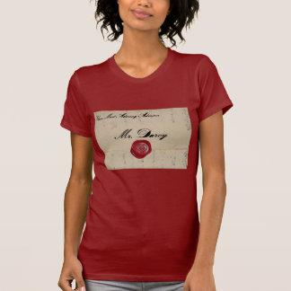 Mr Darcy Love Letter Shirt