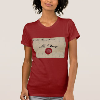 Mr Darcy Love Letter Tee Shirts