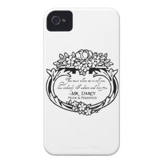 Mr Darcy Loves and Admires Case-Mate iPhone 4 Case