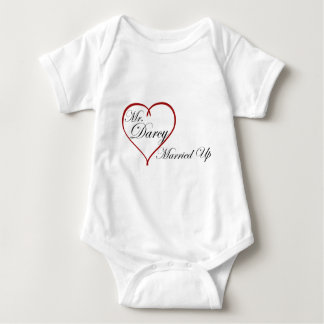 Mr. Darcy Married Up Baby Bodysuit