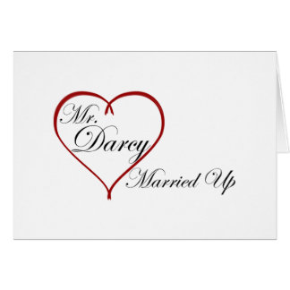 Mr. Darcy Married Up Card