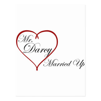 Mr. Darcy Married Up Postcard