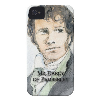 Mr Darcy of Pemberley Case-Mate iPhone 4 Case