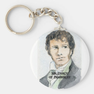Mr Darcy of Pemberley Keychain