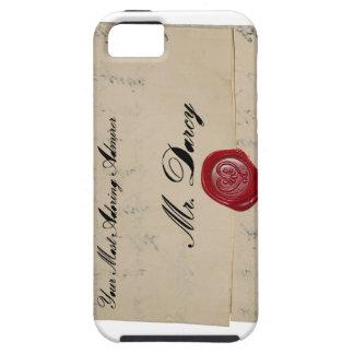 Mr Darcy Regency Era Letter iPhone SE/5/5s Case
