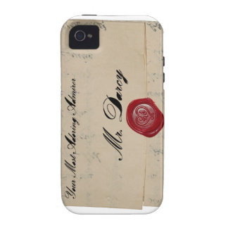 Mr Darcy Regency Love Letter Vibe iPhone 4 Cases