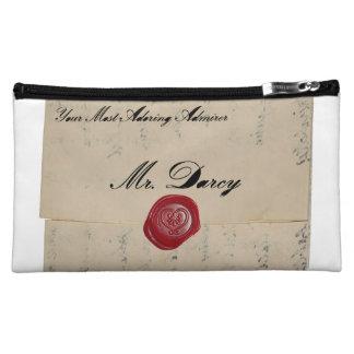 Mr Darcy Regency Love Letter Makeup Bag