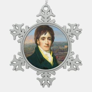 Mr. Darcy Snowflake Ornament