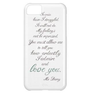 Mr. Darcy to Elizabeth Bennet... iPhone 5C Case